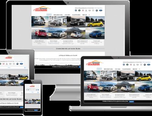 Webdesign und IT Service – Autohaus Reckmann