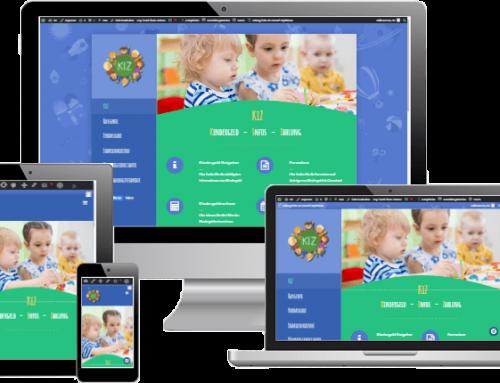 Webdesign – KIZ – Ratgeber zu Kindergeld & Kinderzuschlag