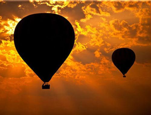 Konzeptidee – Ballonfahrten Online