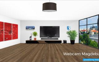 Designkonzept für Parallax Effekte, Animationen und Webcam