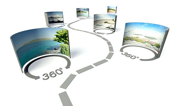 Programmierung einer virtuellen 360° Tour
