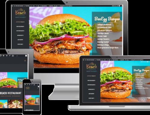 Webdesign – Little Beach Restaurant
