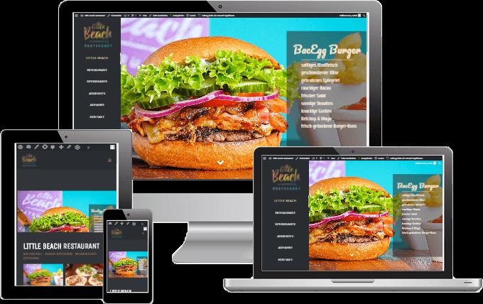 Restaurant-Website Entwicklung