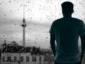 Panorama Berlin - Regen
