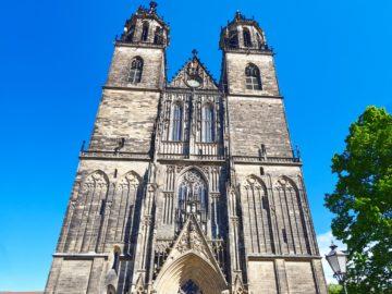 Magdeburg Dom Westfassade