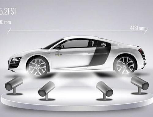 Grafik- und Bildanimationen – Autoshow